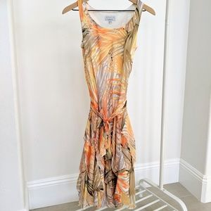 Never worn Macy's Women's Tropical Dress 4P
